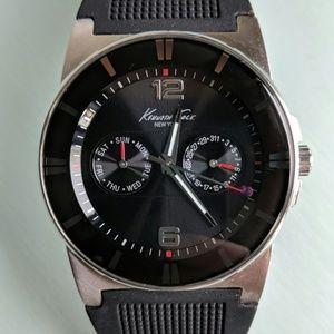 Silver/black watch (Kenneth Cole)